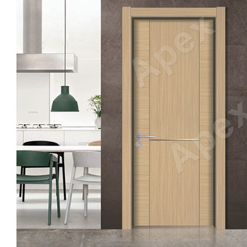 Environmental Ecological Wood Contemporary Double Swing Interior Closet  Doors