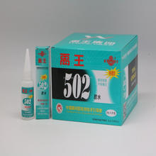 Instant quick drying cyanoacrylate adhesive strong bond fast 502