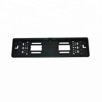 Precision Custom OEM Universal Auto Truck Car Rubber Black License Plate Frame Plastic Injection Mould Cover Mold Molding Parts