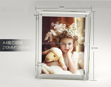 New style custom magnetic lovely kids photo funia frame photo