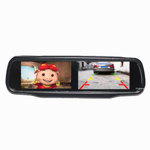 Double Vision Twins Diy Terug Monitor Auto <span class=keywords><strong>Achteruitkijkspiegel</strong></span> Voor Japan Cars Magotan Mitsubishi Chevrolet Jeep Opel