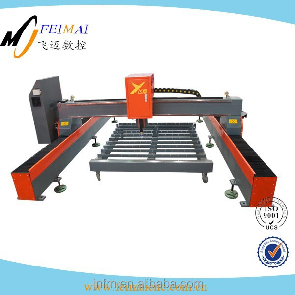 CNC gantry cutting machine / torch hieigh controller for plasma cutters / flame oxy gas cutting machine