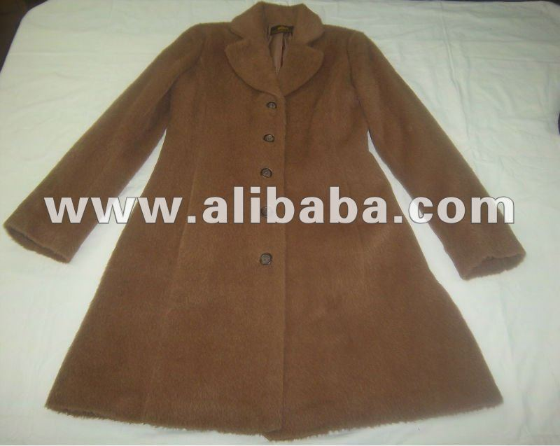 68% Suri Alpaca 32% Wool Coat