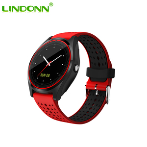 2018 Bluetooth V9 Smartwatch Camera Pedometer Health Sport Smart Watch For Android