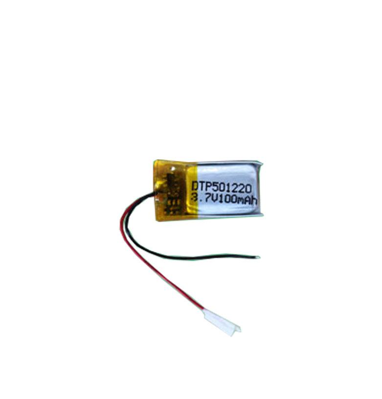 rechargeable 501220 3.7V 100mah lipo polymer battery for electronic