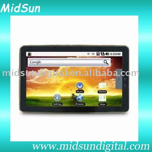 capacitive screen windows 7 ta,mid,Android 2.3,Cotex A9,1.2Ghz,Build in 3G,WIFI GPS,Bluetooth,GSM,WCDMA,Call Phone,sim card slot