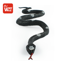 shantou chenghai toy factory wholesale mini rubber snake for child