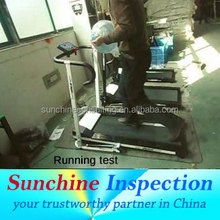 commercial treadmill quality inspection /production inspection in China / India quality inspection