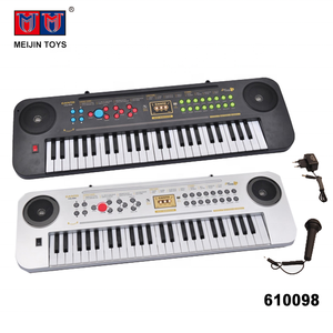 multifunction electronic organ toys 49 keys keyboard with microphone and charger