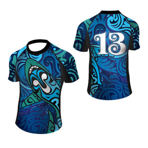 Customized authentic rugby training league jerseys sublimation rugby jersey