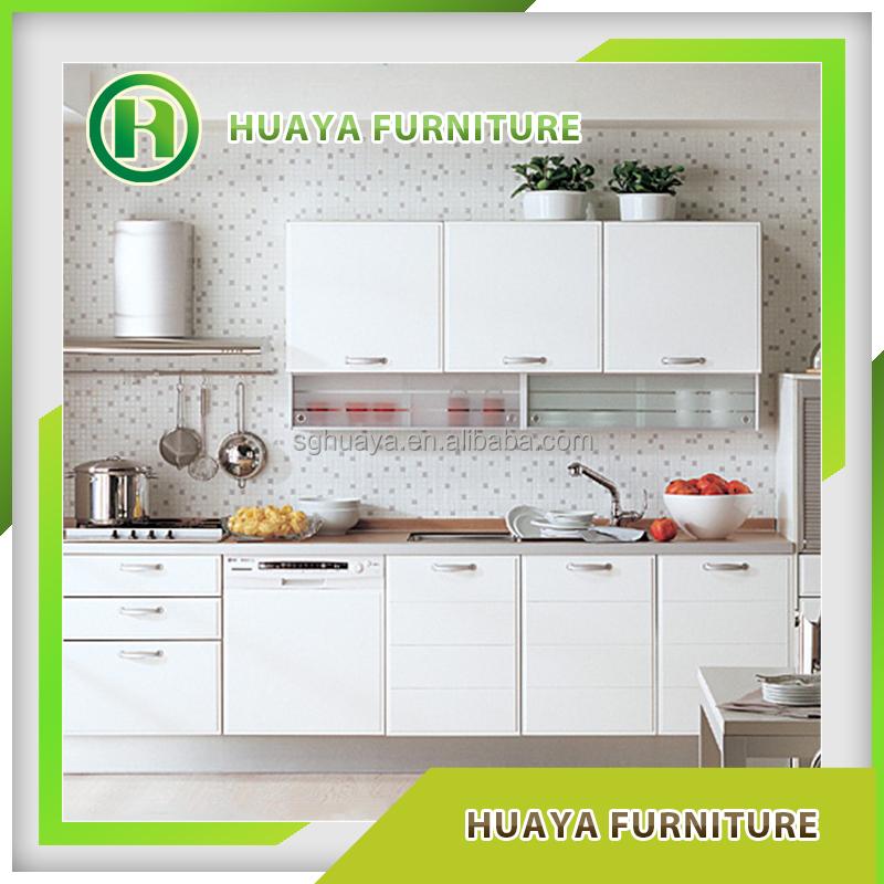 Wholesale Kitchen Cabinet: Wholesale Kitchen Cabinet Set Pvc Wood Grain Laminate