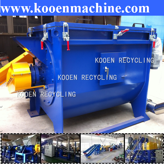 Reprocession waste HDPE recycling equipment