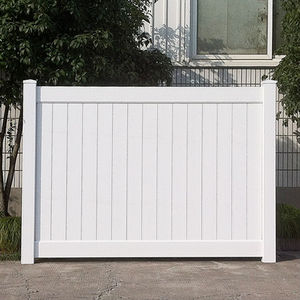 100% Virgin Material PVC Fence, PVC Fence Series