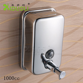 Inox 1000cc Manual Liquid Soap Dispenser