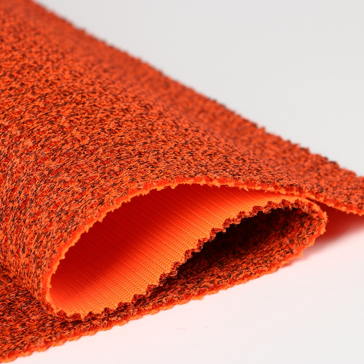 100% Polyester Orange Breathable Durable 3D Air Mesh Fabric for Car