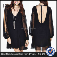 MGOO Brand Quality Custom no brand clothing Summer womens apparel manufacturers wholesale Young party dresses 8190