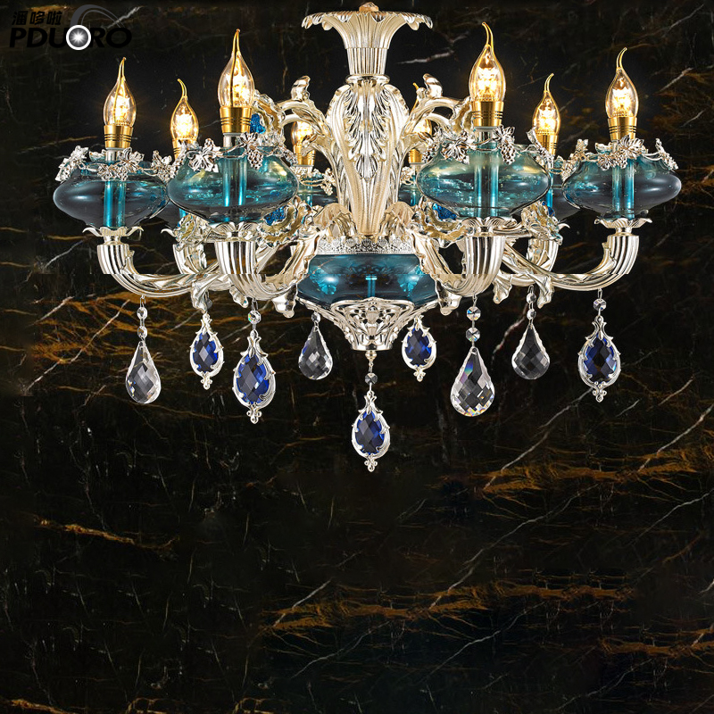 Hot selling promotional crystal chandelier gold for wedding event luxury beautiful k9 crystal lamp