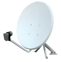 ku-band 35cm satellite dish antenna