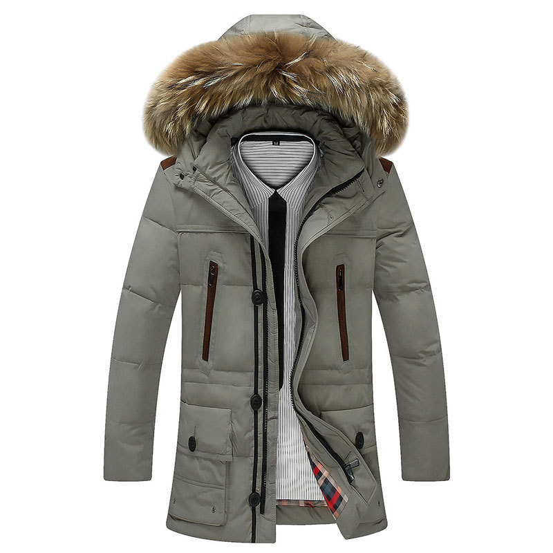 Good Quality 2015 HOT Sale New Winter Large Size Parka Men