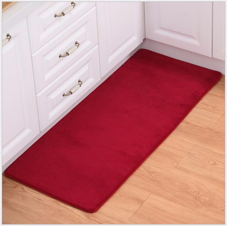2PCS Set Carpet Coral Velvet Pad Carpet Floor Mat Carpet And Rug For  Bathroom Kitchen Non-slip Mat Door Carpet Mat Alfombras - us230 790662eeadf
