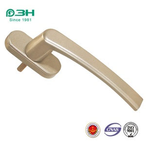 Factory price casement window hardware square shaft lockable handle