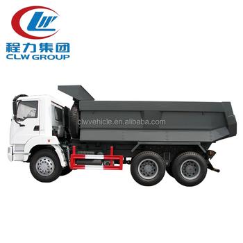 Green 10 Wheel RHD 20 Ton Dump Truck SINOTRUK Brand With