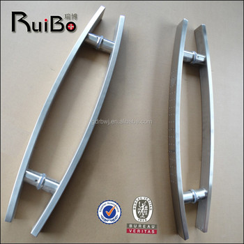 modern stainless steel front door pull handles RB-3254, View front ...