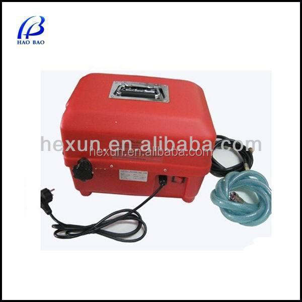 China Mmanufacturing HAOBAO ETP-4.0 Hydrostatic Test Pump Washing Machine