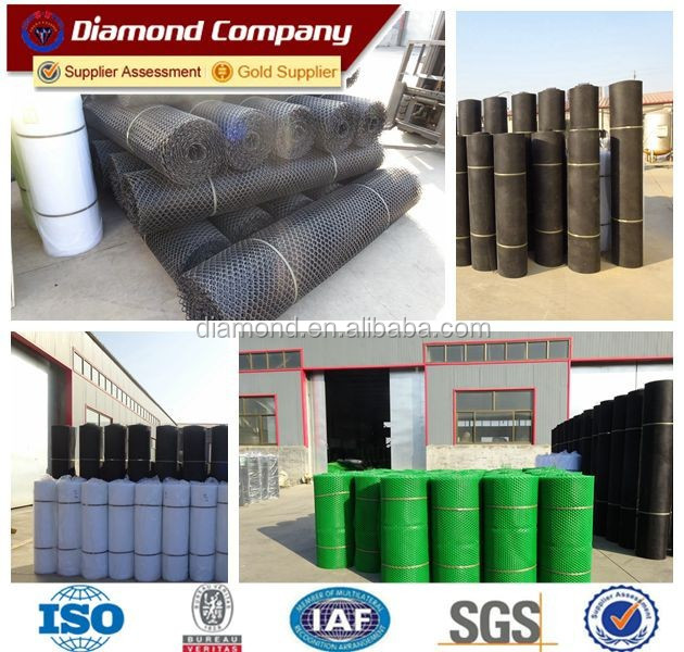 Wholesale rolls of green extruded plastic flat mesh/white plain hdpe plastic netting