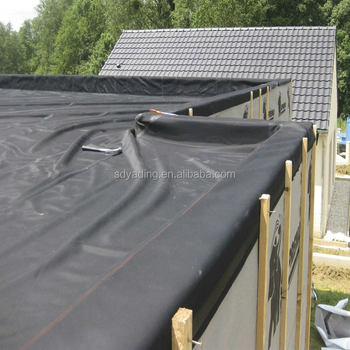 Waterproofing Epdm Roof Membrane And Pond Liner In Low Price