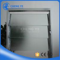 China Supplier Louver Window Flat 10mm Bronze Processing Glass Bevel Edged Slab Shutter Glass