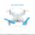 New arrival 2017 901S mini foldable pocket drone fpv with camera SJY-901S