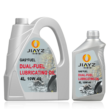 Anti-wear automotive engine oil dual fuel oil SL 10w40 automotive lubricants