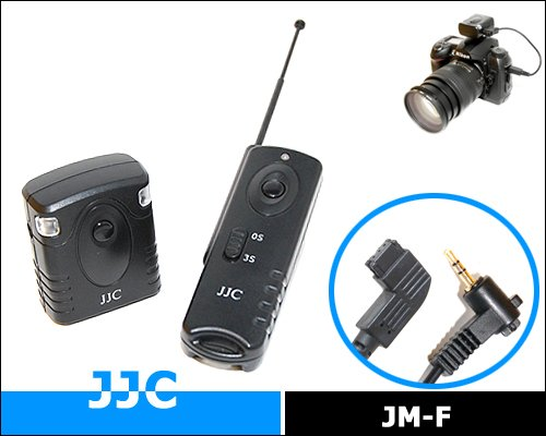 JJC JM-D Radio frequency wilress remote control for SONY RM-S1AM KONICA MINOLTA RC-1000S/ RC-1000L for A700 A900 A55 A77 A33