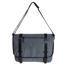 하이앤드 heavy weight canvas laptop messenger bag