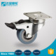 Good quality REACH swivel lock food transparent rhombus industry castor
