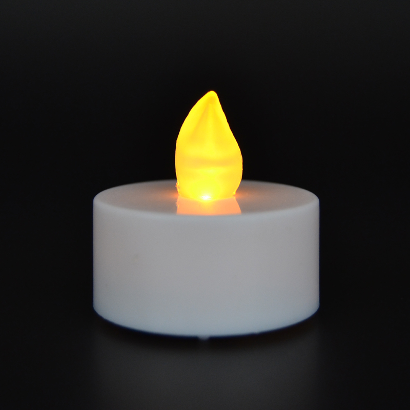 Flickering Tea Lights Battery Operated Candles Buy