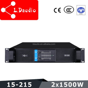 1500w 2 channel class h made in china power amplifier for pa dj stage sound system