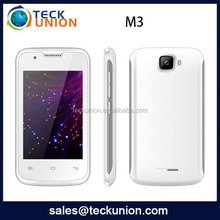 M3 3.5inch itel mobile phones 3G android smart cell phone