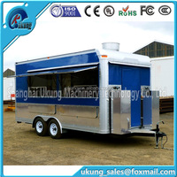 2016 Top sales widely application highly customized food truck for vending fast food