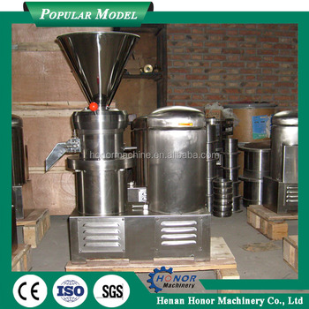 800kg/h Peanut Butter Brands Almond Butter Machine From China ...
