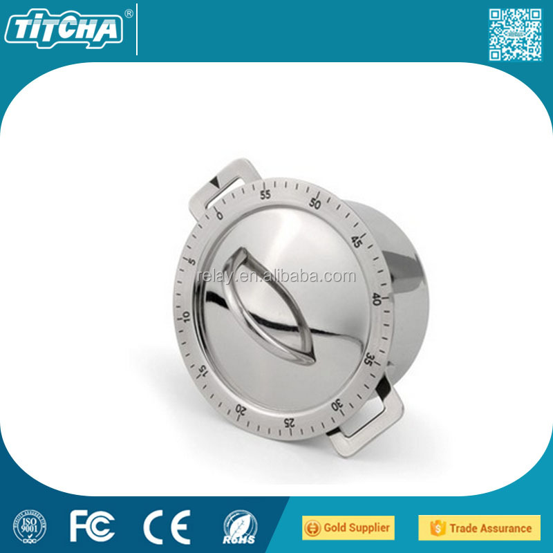 Kitchen timer count down timer reminder stainless steel mechanical / minute mechanical timer