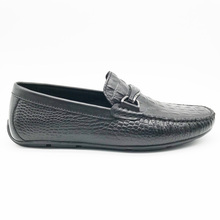 classical men's moccasin leisure shoes with classy pure genuine leather men's loafers casual shoes for formal party driving