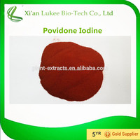 Povidone Iodine Disinfectant raw material for human and veterinary pharmaceutical