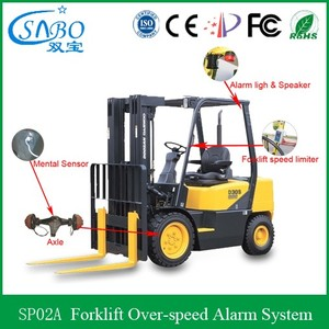 Best Seller China Forklift Security Alert System, Over Speed Aarming Light and Voice Warning With GPS Tracking Device