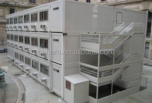 prefab container office production line