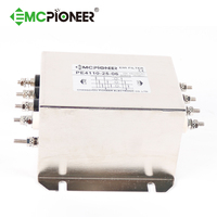 PE4110-25-06 10A 250V/440VAC Hifi Power Noise four lines mains three phase Filter