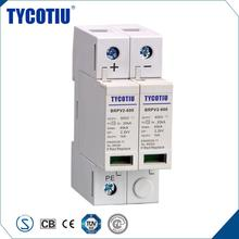 TYCOTIU Electronics 600V 1000V Earthing And Light Protector PV Surge Device Thermal Protection
