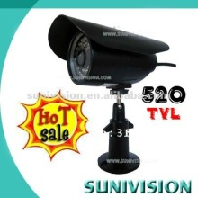 2012 HOT SALE 1/3 Sony 520TVL Color CCD Waterproof IR Camera