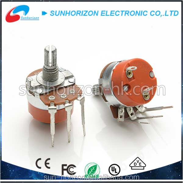 Big size 3pins B503 rotary potentiometer for music amplifier